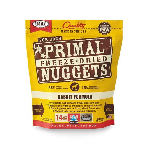 Primal Dog Freeze Dried Rabbit