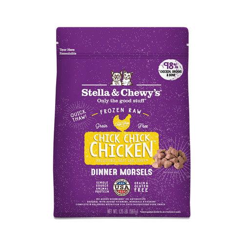 Stella & Chewy's Cat Frozen Chicken Morsels 1.25lb