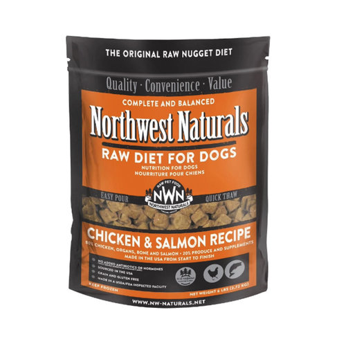 Northwest Naturals Dog Frozen Chicken and Salmon 6lb