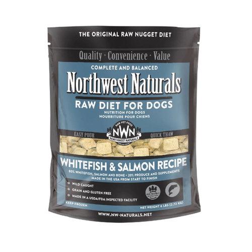 Northwest Naturals Dog Frozen Whitefish and Salmon 6lb