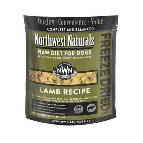 Northwest Naturals Dog Freeze Dried Lamb 12oz