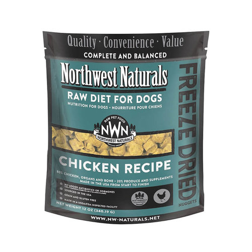 Northwest Naturals Dog Freeze Dried Chicken 12oz