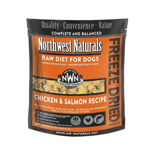 Northwest Naturals Dog Freeze Dried Chicken and Salmon 12oz