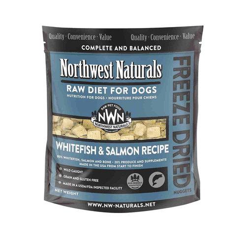 Northwest Naturals Dog Freeze Dried Whitefish and Salmon 12oz