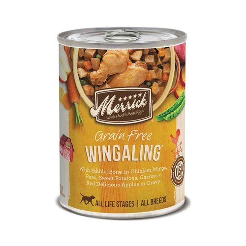 Merrick Dog GF Stew Wingaling 12.7oz