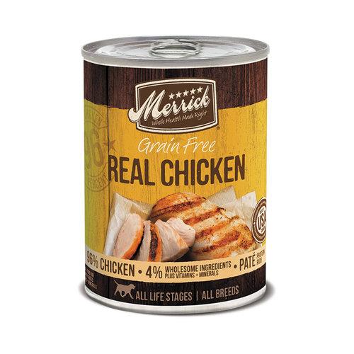 Merrick Dog GF 96% Chicken 12.7oz
