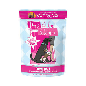 Weruva Dog Pouch Fowl Ball 2.8oz