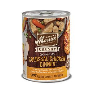Merrick Dog GF Stew Chunky Colossal Chicken 12.7oz