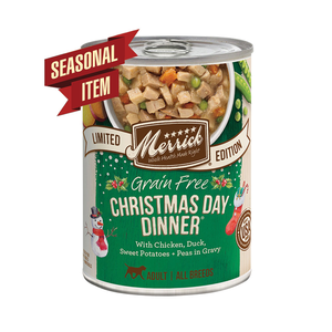 Merrick Dog GF Stew Christmas 12.7oz