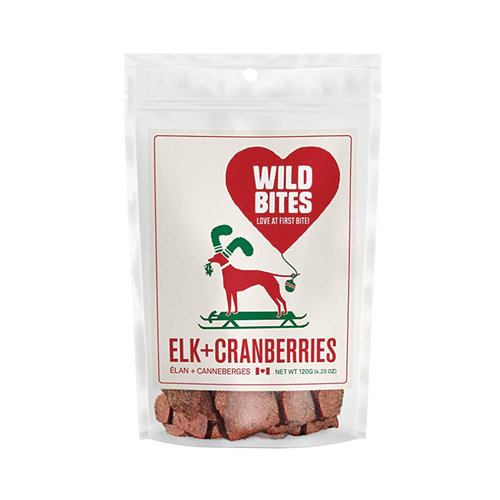 Wild Bites Elk with Cranberries Chips 120g