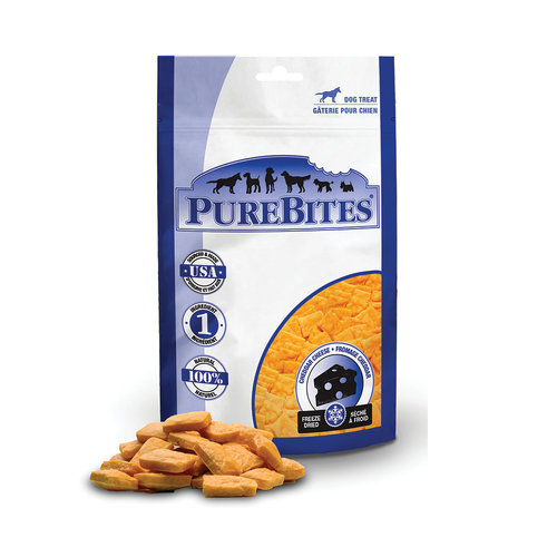 Pure Bites Dog Treat Cheddar Cheese 57g