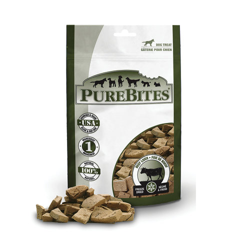 Pure Bites Dog Treat Beef Liver 120g