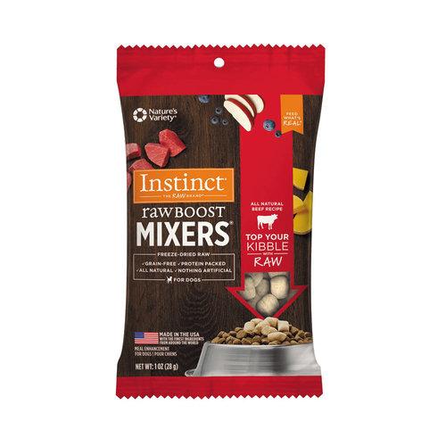 Instinct Dog Freeze-dried Mixer Beef 1oz