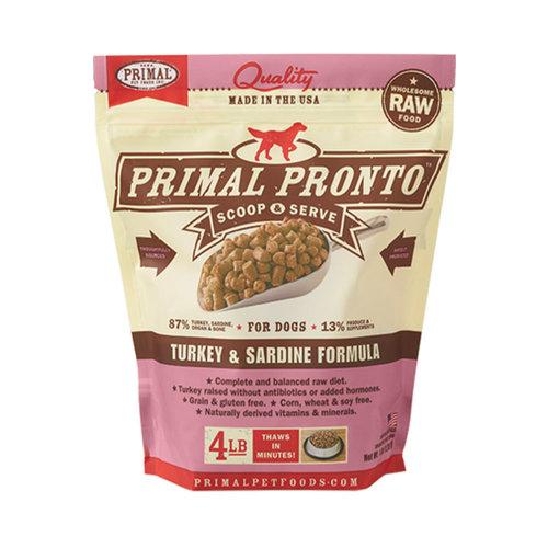 Primal Dog Frozen Turkey and Sardine