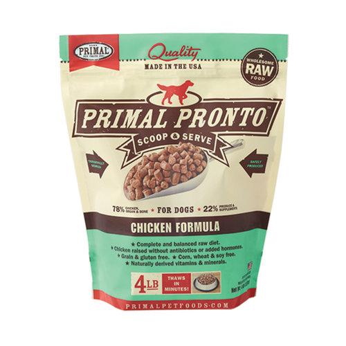 Primal Dog Frozen Chicken