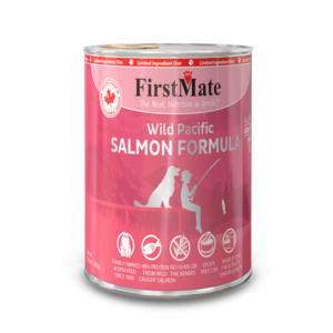 First Mate Dog LID Salmon 12.5oz