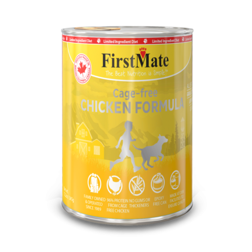 First Mate Dog LID Chicken 12.5oz