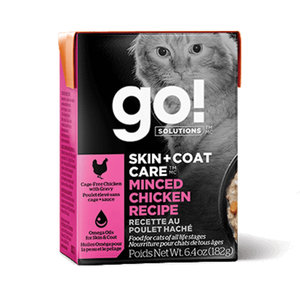 GO! Cat Tetra Skin&Coat Chicken Minced 6.4oz