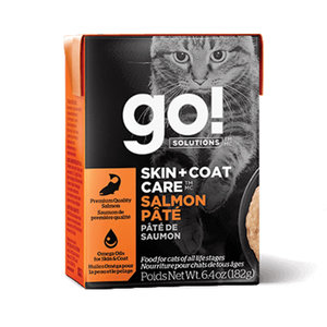 GO! Cat Tetra Skin&Coat Salmon Pate 6.4oz