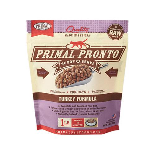 Primal Cat Frozen Pronto Turkey 1lb