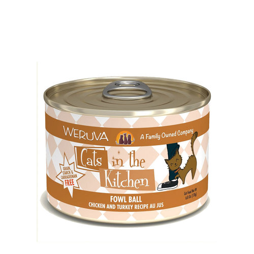 Cats in the Kitchen Fowl Ball 6oz