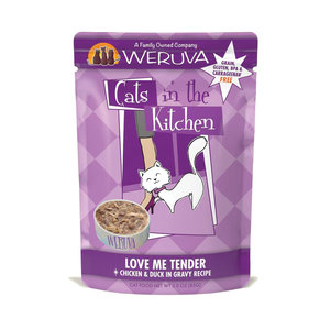 Cats in the Kitchen Love Me Tender Pouch 3oz