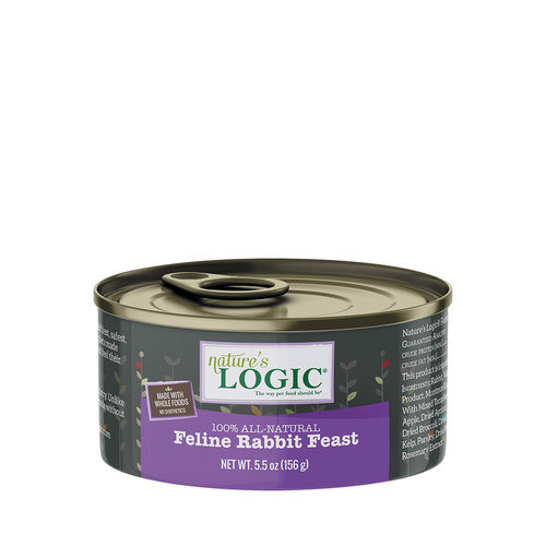 Natures Logic Cat Rabbit 5.5oz