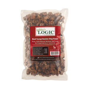 Natures Logic Beef Lung Treat 1lb