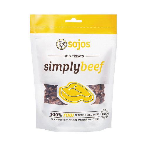 Sojos Simply Beef 4oz