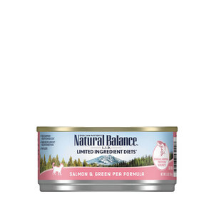 Natural Balance LID Cat Salmon with Green Pea 5.5oz