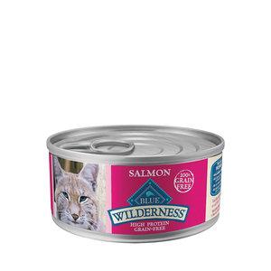 Blue Buffalo Wilderness Cat GF Salmon Pate 5.5oz