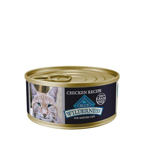 Blue Buffalo Wilderness Cat GF Chicken Pate 5.5oz