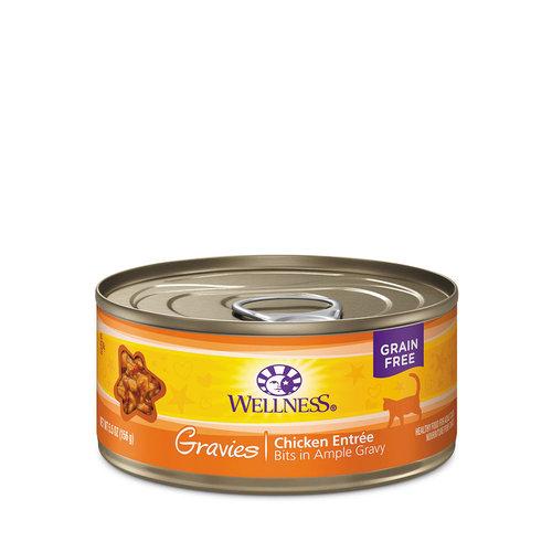 Wellness Cat Gravies Chicken 5.5oz