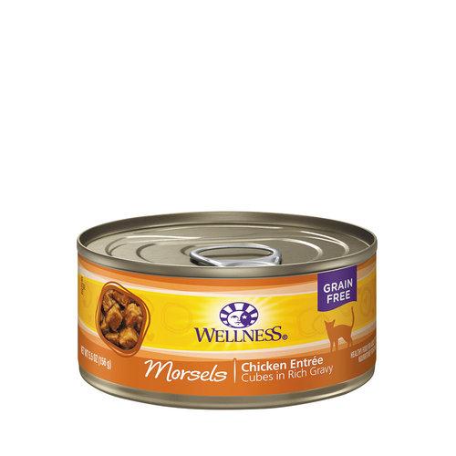 Wellness Cat Morsels Chicken 5.5oz