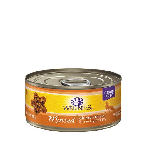 Wellness Cat Minced Chicken 5.5oz