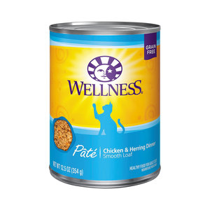 Wellness Cat Pate Chicken and Herring 12.5oz