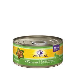 Wellness Cat Minced Turkey 5.5oz