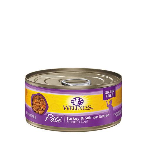 Wellness Cat Pate Salmon and Turkey