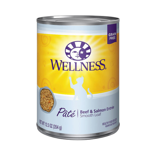 Wellness Cat Pate Beef and Salmon