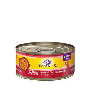 Wellness Cat Pate Beef and Chicken