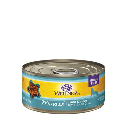Wellness Cat Minced Tuna 5.5oz
