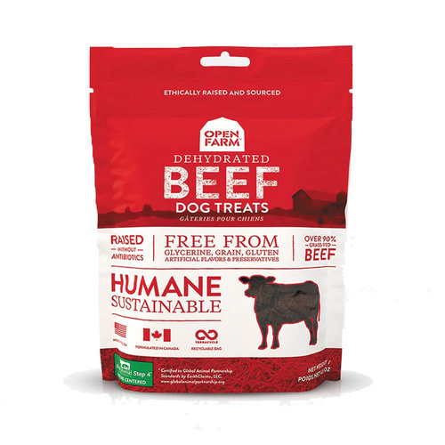 Open Farm Dehydrated Beef Treats 4.5oz