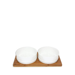 Be One Breed Bamboo/Ceramic Bowl