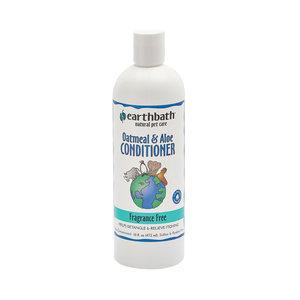 Earth Bath Dog/Cat Conditioner Oatmeal & Aloe, Fragrance Free 472ml