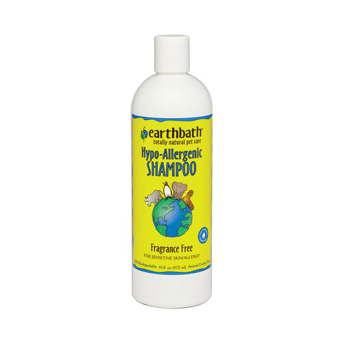 Earth Bath Dog/Cat Shampoo Hypoallergenic 473ml