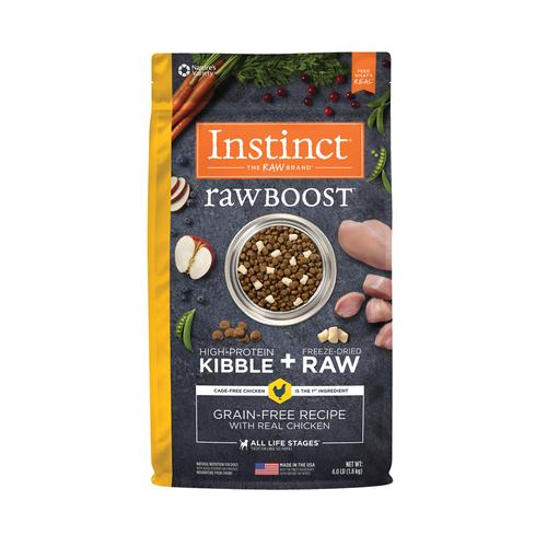 Instinct Dog GF Raw Boost Chicken