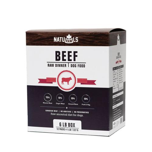 Naturawls Dog Beef 6lb