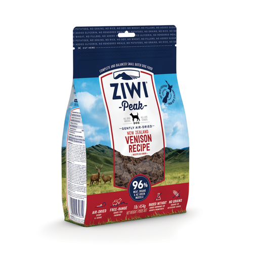 Ziwi Peak Dog Venison 454g