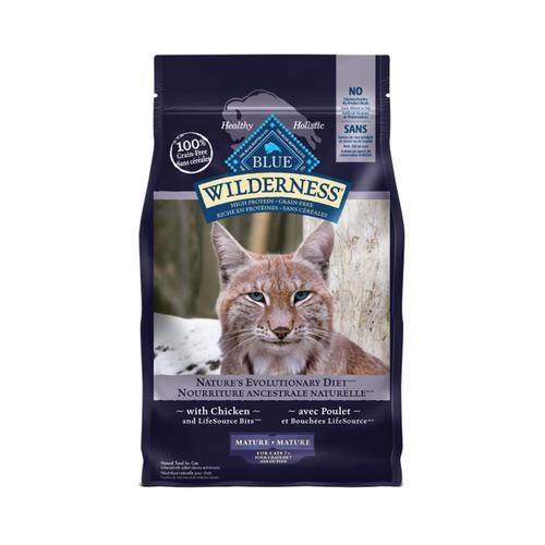 Blue Buffalo Wilderness Cat GF Mature 5lb