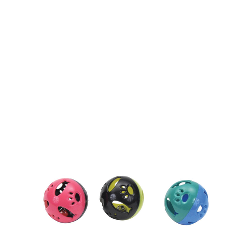Bergan Cat Toy Turbo Plastic Ball